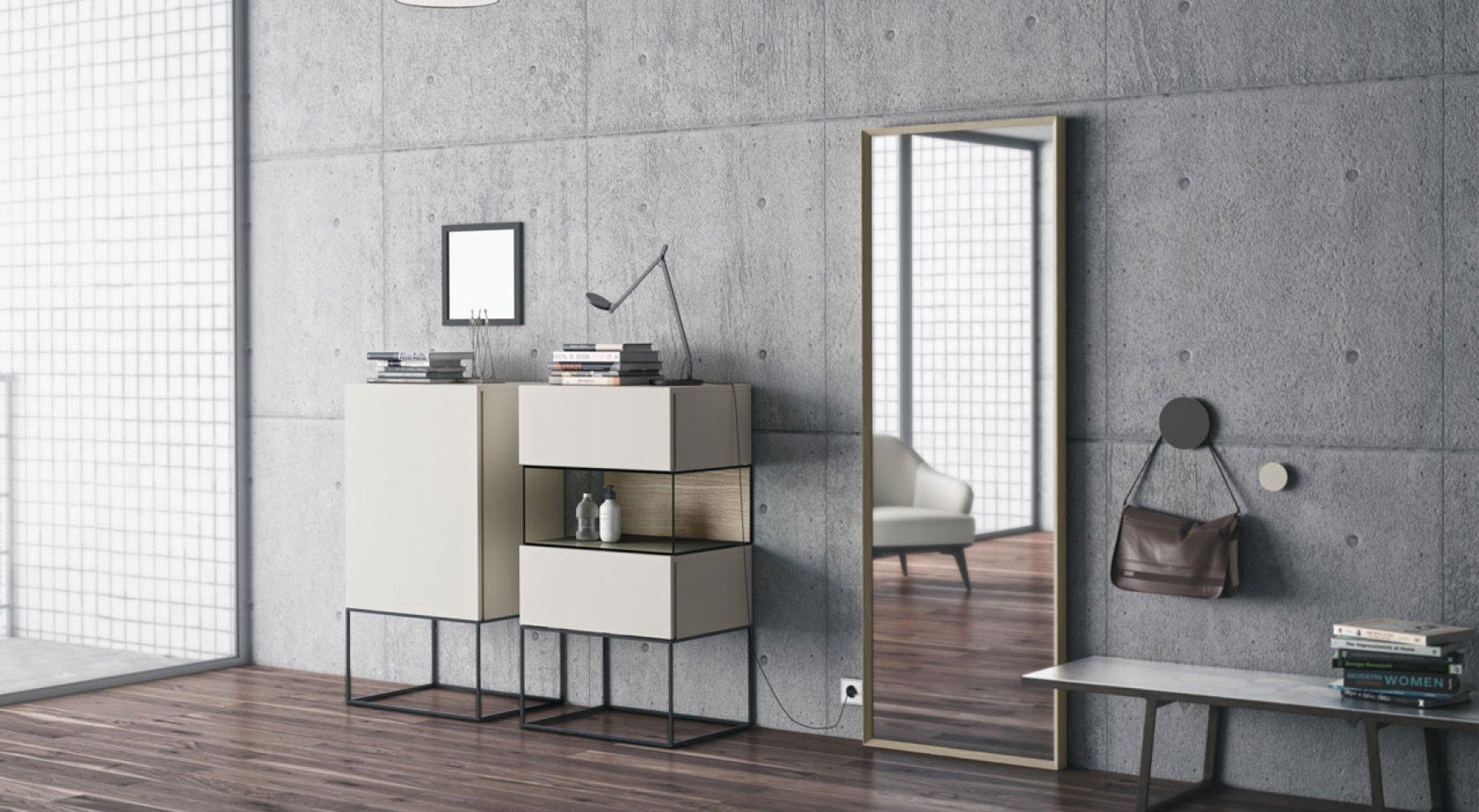Espejos emede mobiliario de dise o for Espejos de diseno para salon