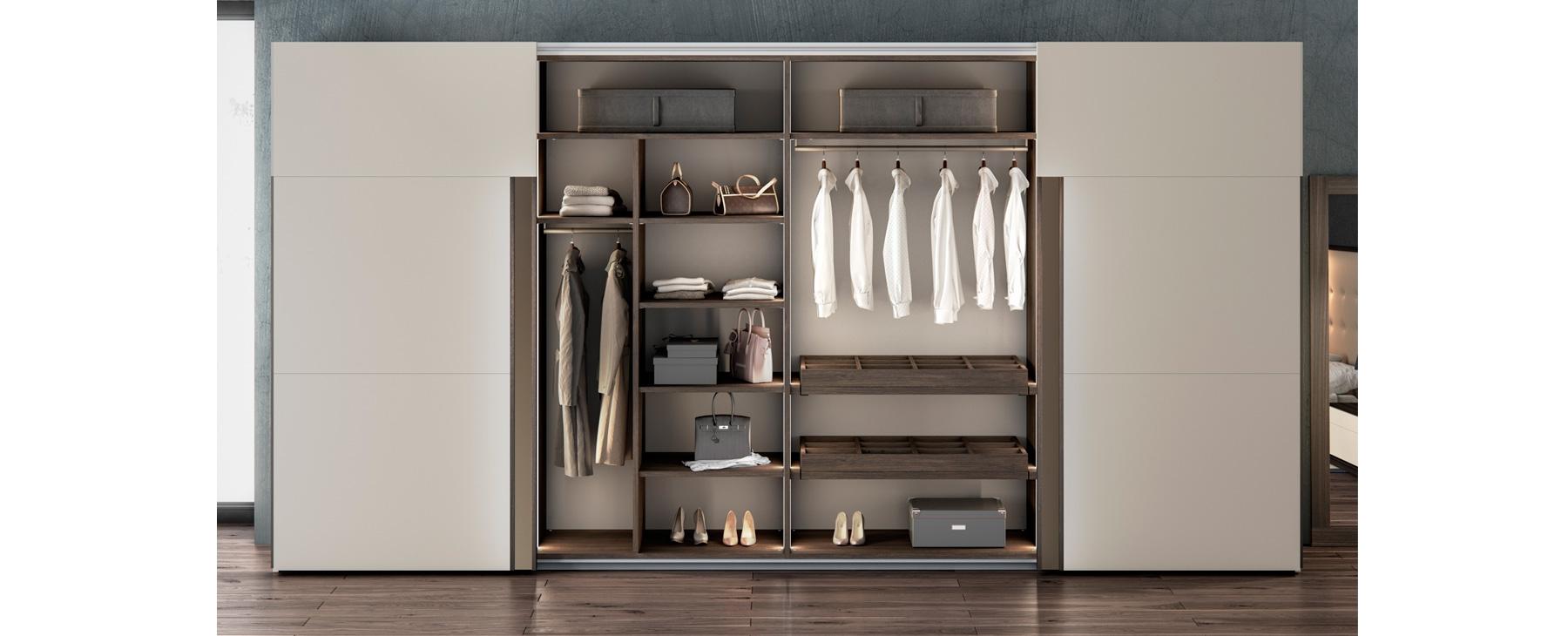 Armarios puertas correderas emede mobiliario de dise o - Diseno de armarios online ...